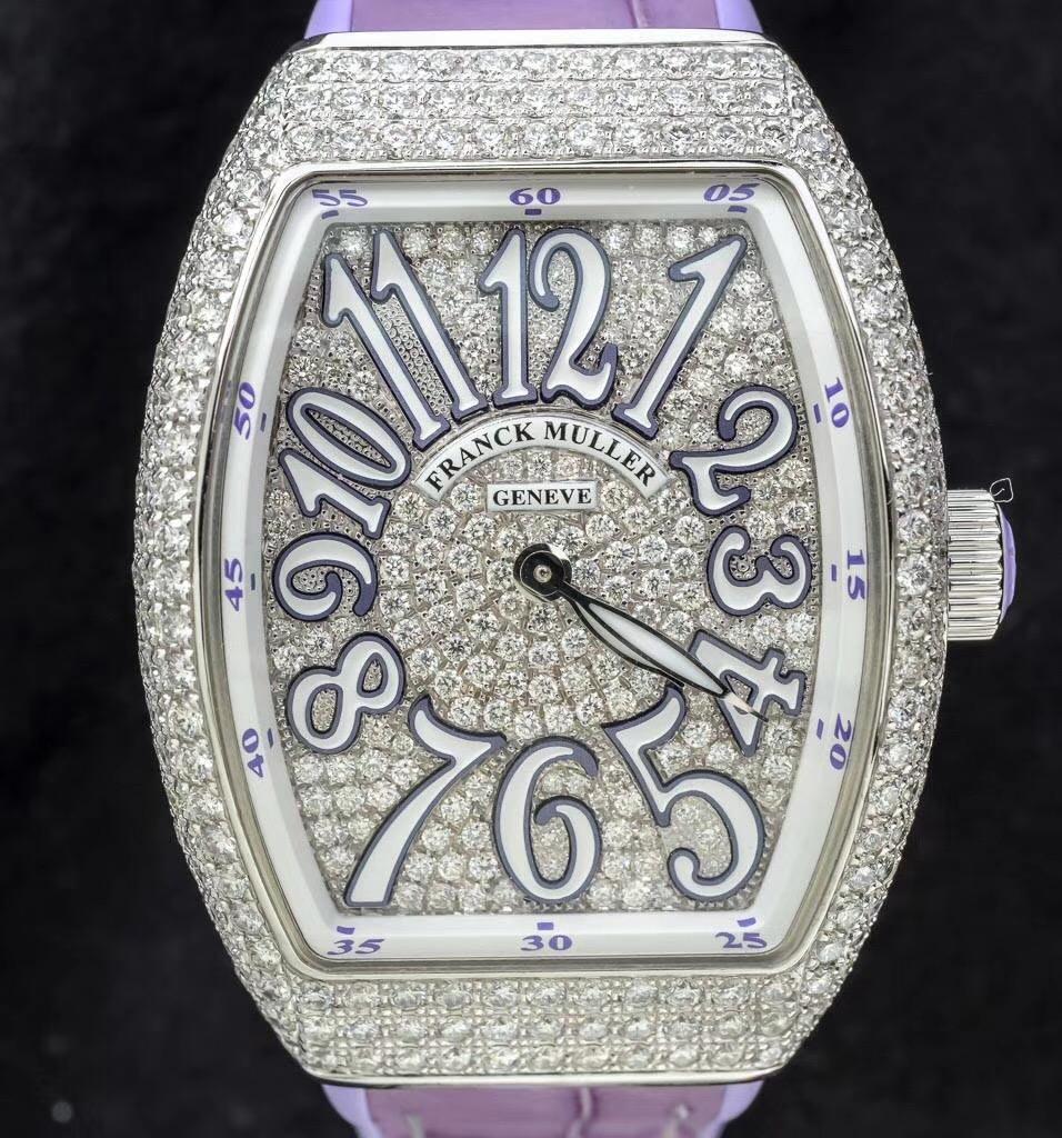 【全新】FRANCK MULLER/フランク・ミュラー V32 QZ D CD AC VL 腕時計 #FM743