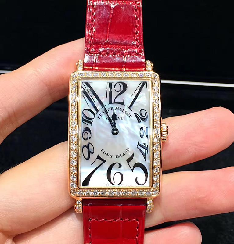 【フランク・ミュラー】FM952ダイヤ18Kピンクゴールド クォーツレディース腕時計#KP1024