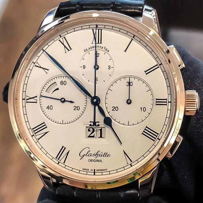【新品】Glashutte Original/グラスヒュッテ・オリジナル 37-01-01-05-30 腕時計 #GL002