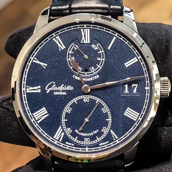 【新品】Glashutte Original/グラスヒュッテ・オリジナル 58-01-05-34-30 腕時計 #GL034