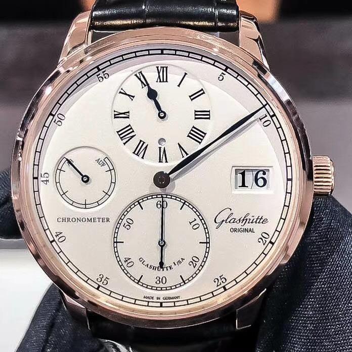【新品】Glashutte Original/グラスヒュッテ・オリジナル 58-04-04-05-04 腕時計 #GL037