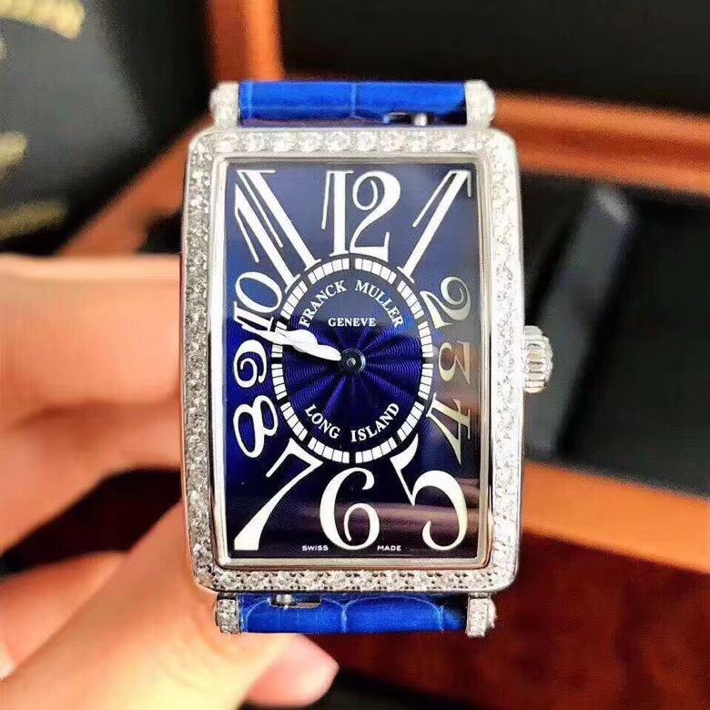 【フランク・ミュラー 】FM952 限定ブルー文字盤腕時計#KP1031