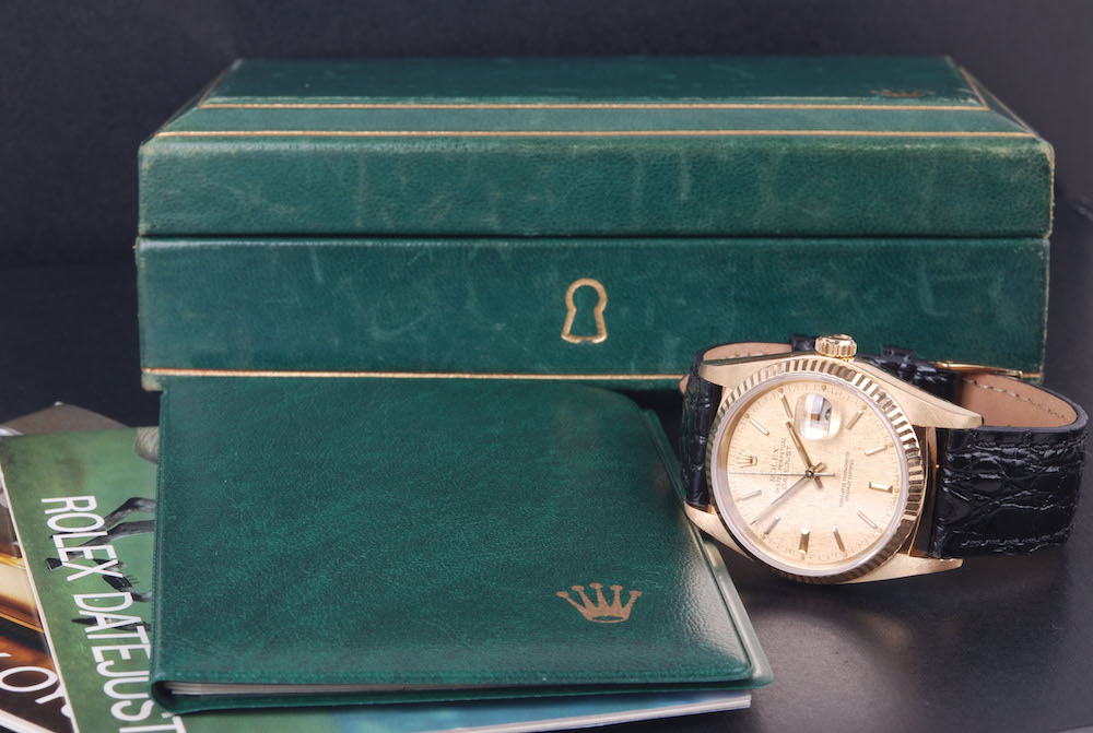 【美品 腕時計】ロレックス デイトジャスト/Rolex メンズ datejust 18Kゴールド メンズ 腕時計 #jp20476 16018 オールセット #jp20476, じゅういちや:b3ed614d --- anaphylaxisireland.ie