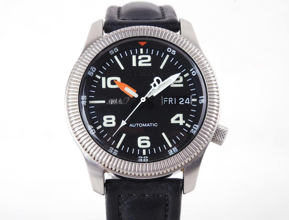 【美品】Seiko/セイコ ANA Pilots 限量版 7S26-0620 40mm 自動巻き腕時計#jp21039