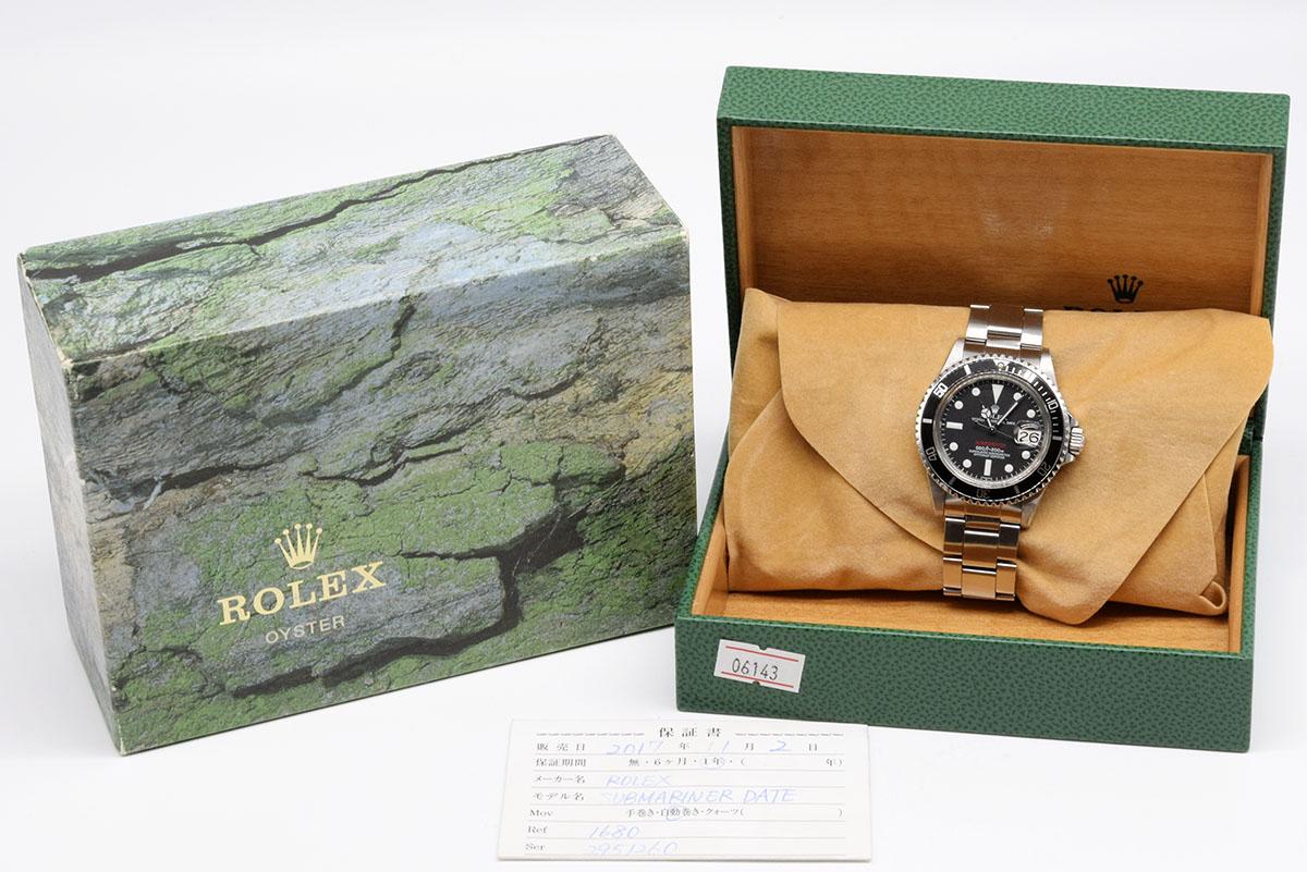 【未使用品】Rolex/ロレックス SUBMARINER/サブマリーナー 1680 Mark VII 六十年代産 自動巻き腕時計#HK8083