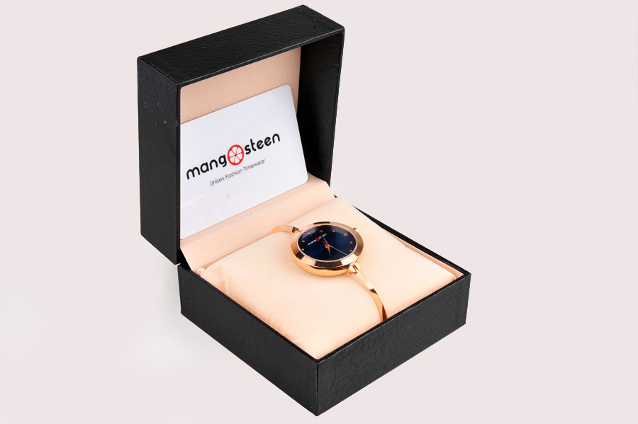 【新品】Mangosteen/マンゴスチン MS-503C ブルー 韓流 クォーツ腕時計