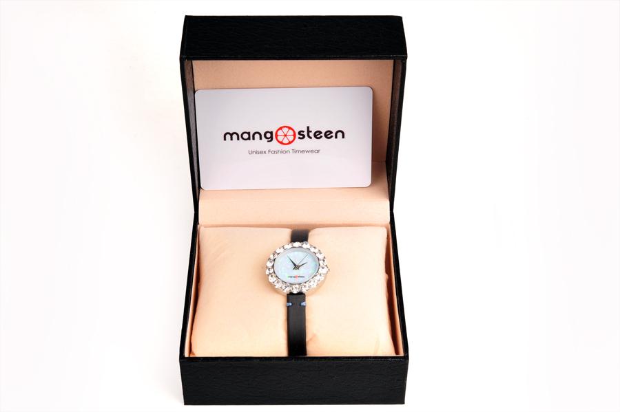 【新品】Mangosteen/マンゴスチン MS512H 水色 韓流 クォーツ腕時計