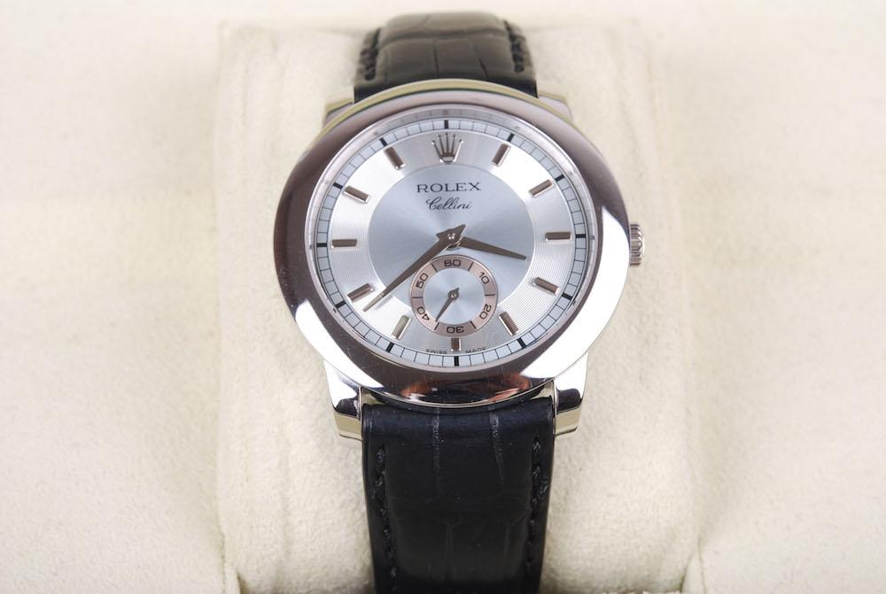 【新同品】Rolex/ロレックス Cellinium/チェリーニ チェリニウム 5241/6 PT950 手動巻き 腕時計#jp20974