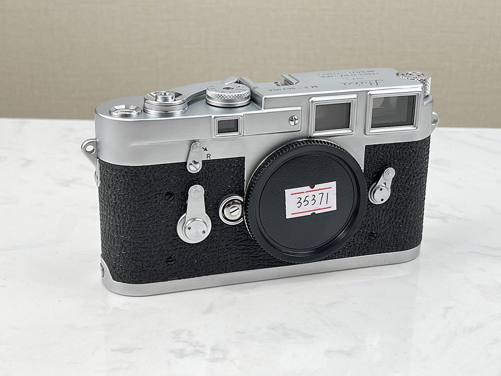 中古LEICA マート ライカ M3 シルバー フィルムカメラ 日本産 シングルストローク ボディ