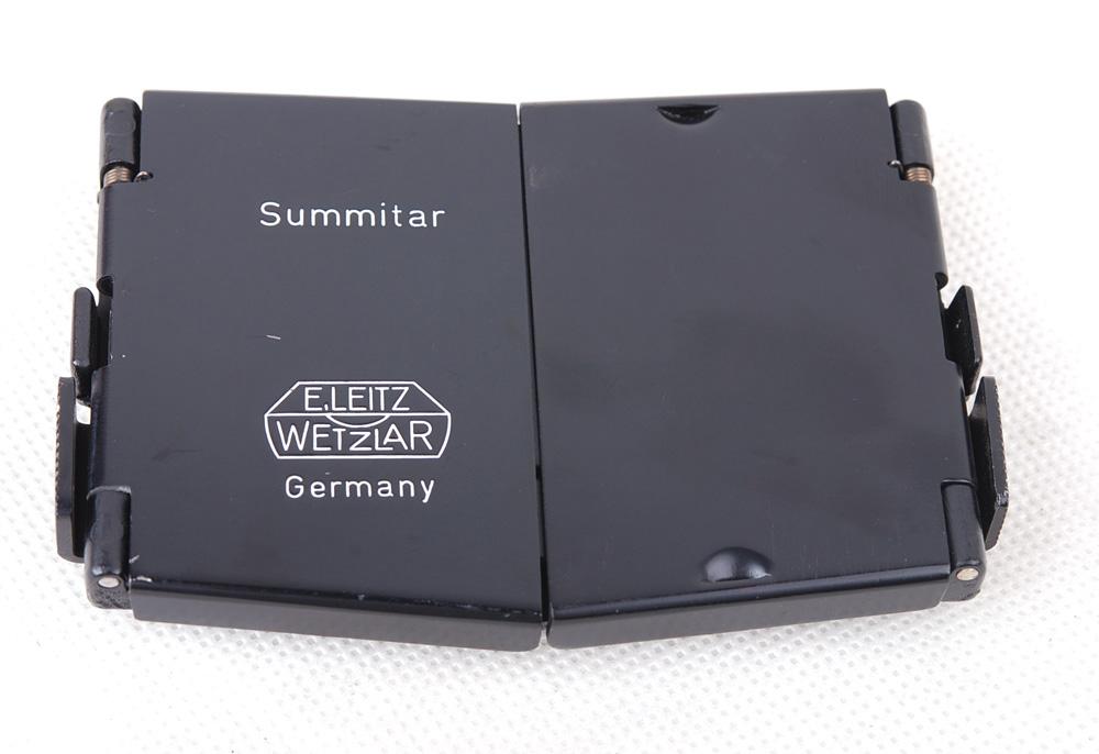 Leicaライカ SUMMITAR ブラックペイント フード
