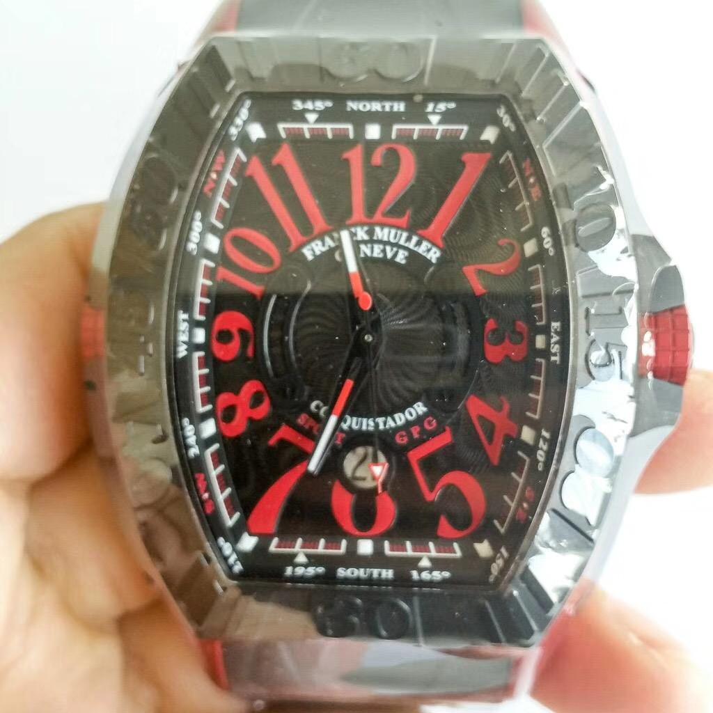【全新】FRANCK MULLER/フランク・ミュラー 9900 SC DT GPG TT NR ERG Rubber 腕時計 #FM714