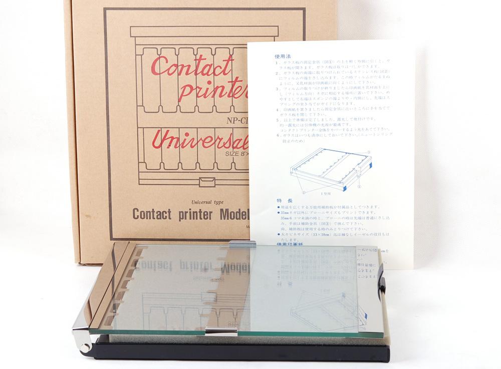 コンタクトcontact プリンターprinter model NP-CI 8X10 大判適用 箱付