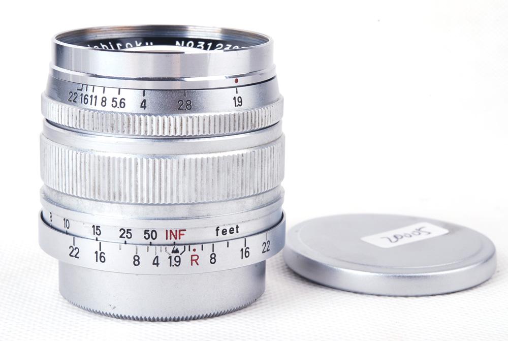 コニカKonica Konishiroku Hexanon 50mm f1.9 LTM L39マウント