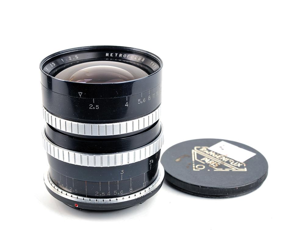 Angenieux アンジェニュー paris type R1 35mm f2.5 ニコンマウント改造 #33282