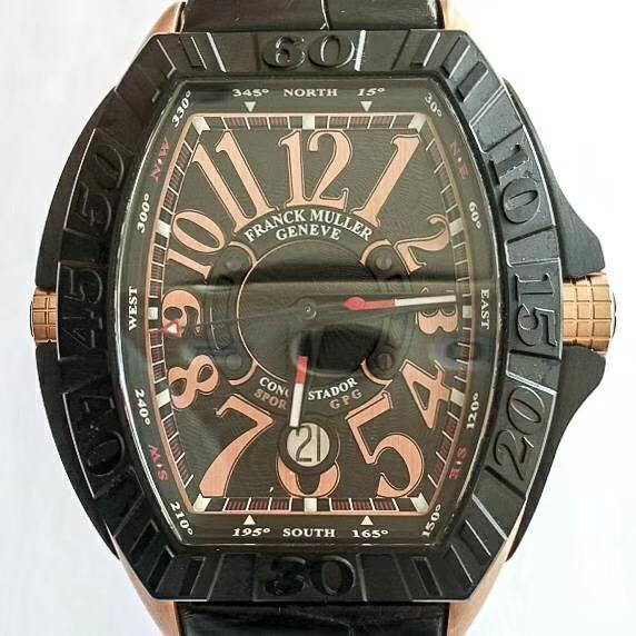 【全新】FRANCK MULLER/フランク・ミュラー 8900 SC DT GPG TT NR 5N Leather 腕時計 #FM723