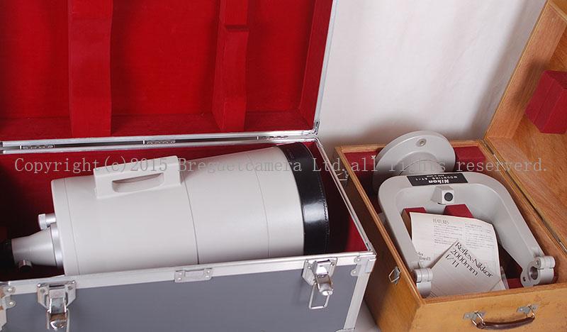 レア珍品NIKONニコン Reflex-Nikkor 2000mm F11 レフレックス 箱付