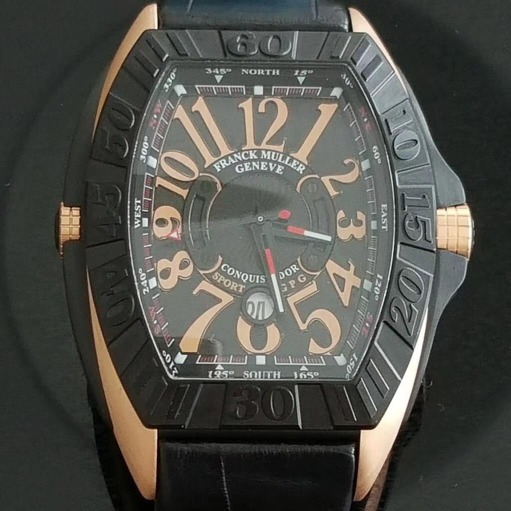【全新】FRANCK MULLER/フランク・ミュラー 9900 SC DT GPG TT NR 5N Leatcher 腕時計 #FM713