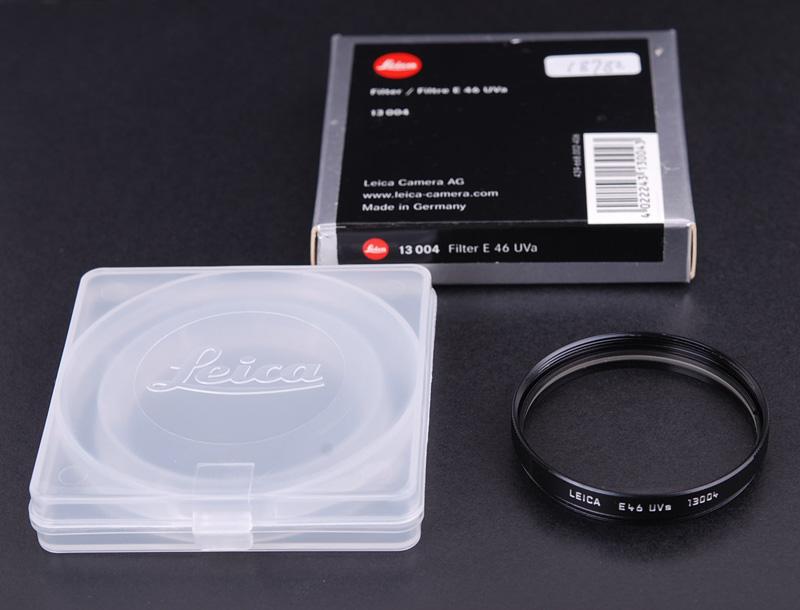 leicaライカ E46 UVa 46mm フィルター ブラック13004 箱付