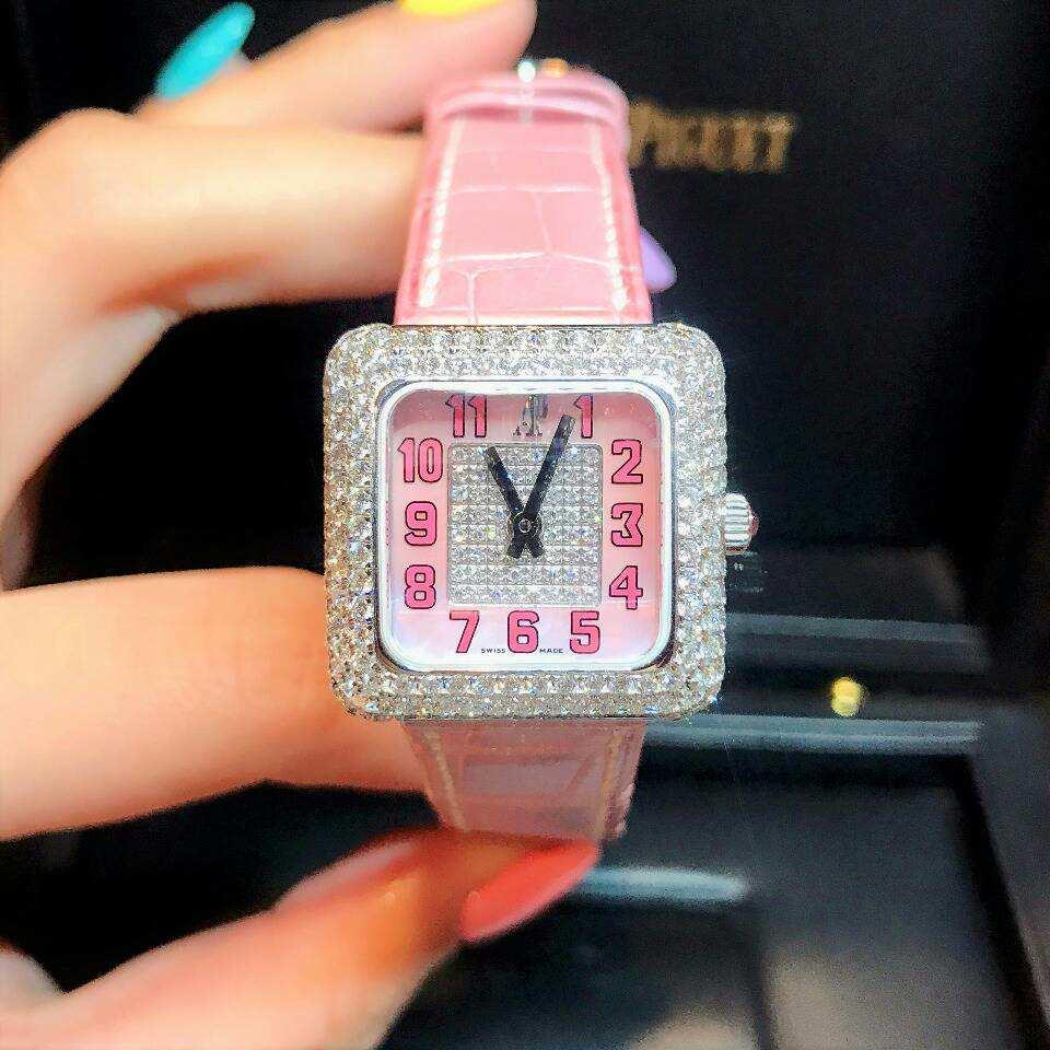 AUDEMARS PIGUET 67432BC.ZZ.A078CR.02 オーデマピゲ レディース クォーツ 新品腕時計#AP08