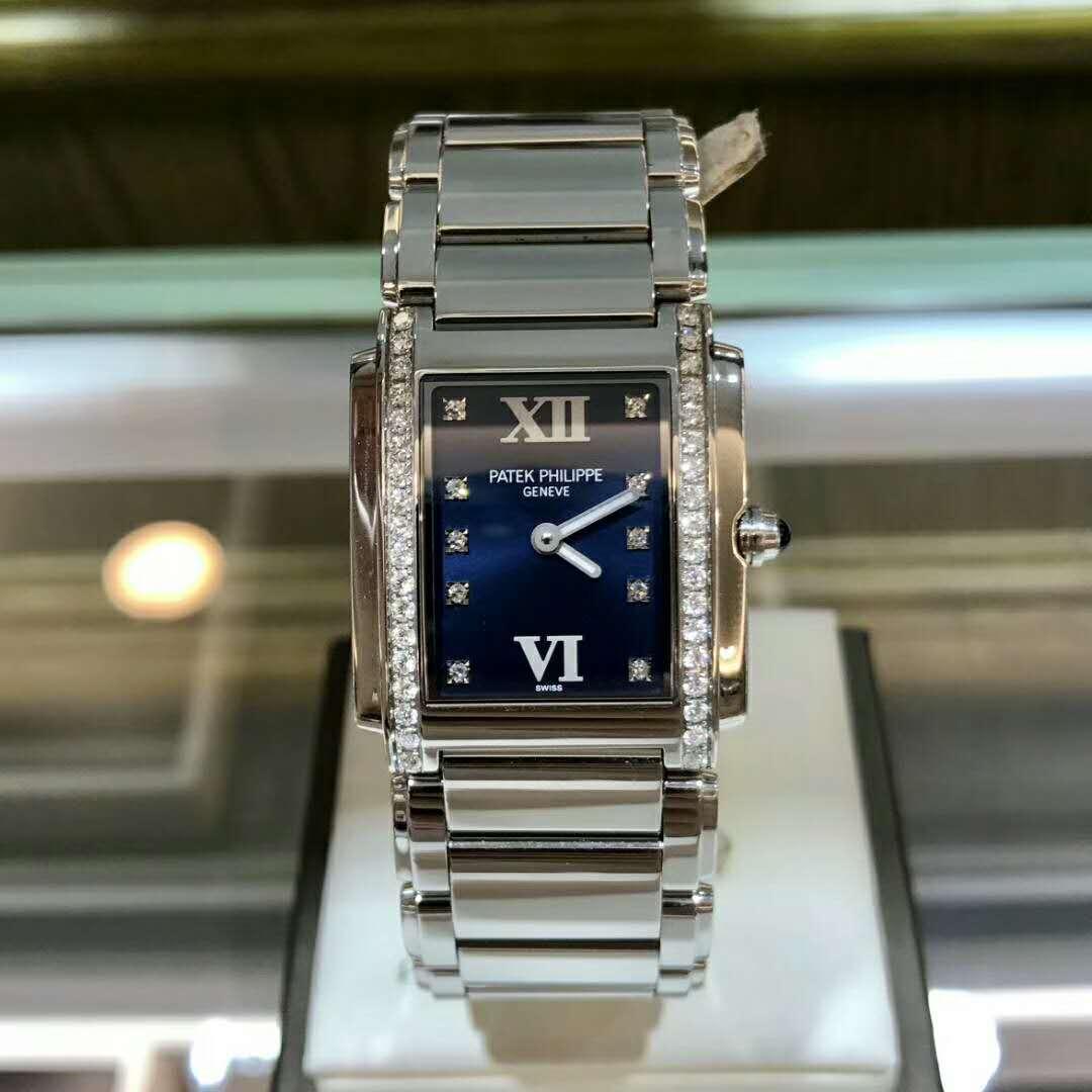 新品パテックフィリップ 腕時計 Twenty-4(トゥエンティフォー) 4910/10A-012 30mm レディース