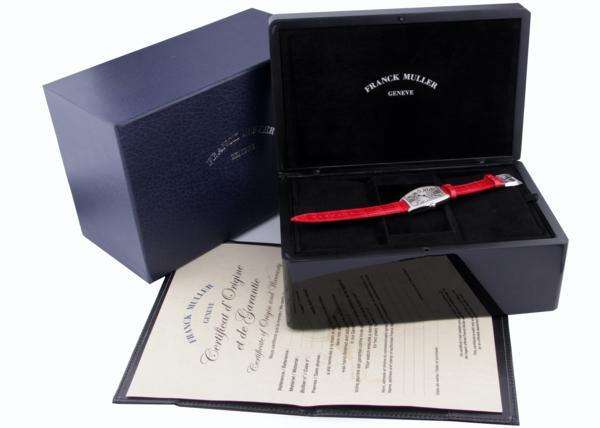 ★新品★フランク ミュラー SSケース 2852 QZ D1R ダイヤモンド クォーツ 腕時計