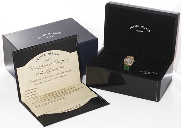 ★新品★フランク ミュラー 2852QZD 1R K18PG クォーツ 腕時計