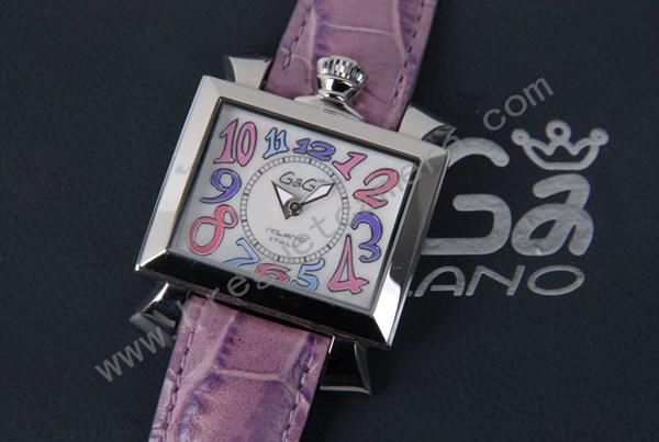 ★美品★ガガミラノ 腕時計 GAGA MILANO NAPOLEONE ステンレス 時計 レディース 6030.7