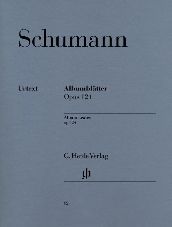 14時までに決済を完了したご注文は当日出荷いたします 輸入楽譜 予約販売品 送料無料限定セール中 ピアノ Op.124 シューマン:アルバムの綴り