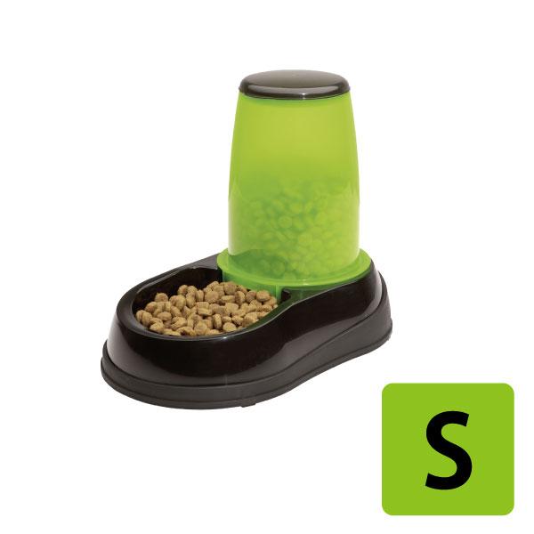 【スーパーSALE+P5倍】 給餌器 フィード S グリーン 餌 ペットフード ドッグフード