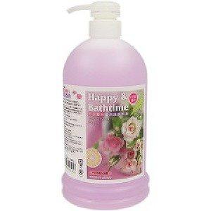 送料無料 キンペックス ハッピー&バスタイム バラの香り 1L 入浴液 キャッシュレス 還元