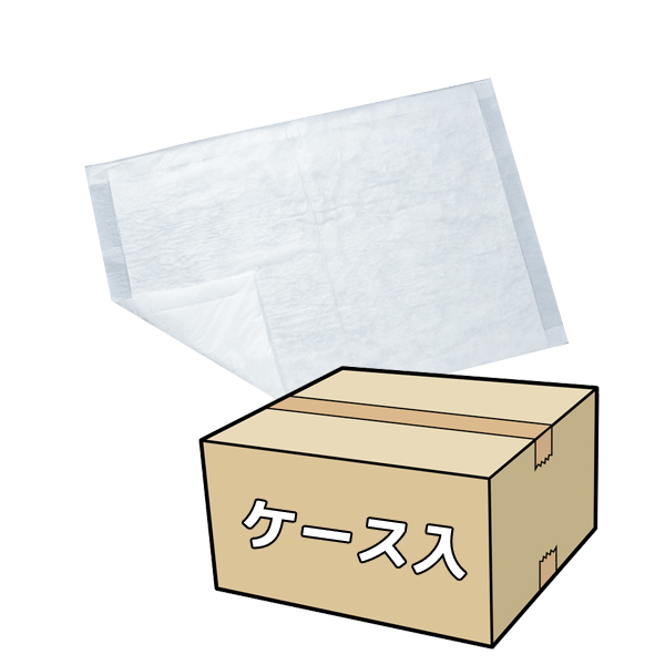 送料無料 犬 国産 ペットシーツ 薄型 (さらさらタイプ) ワイド 400枚 (50枚×8袋) ケース入り [ペットシート トイレシート トイレ] キャッシュレス 還元