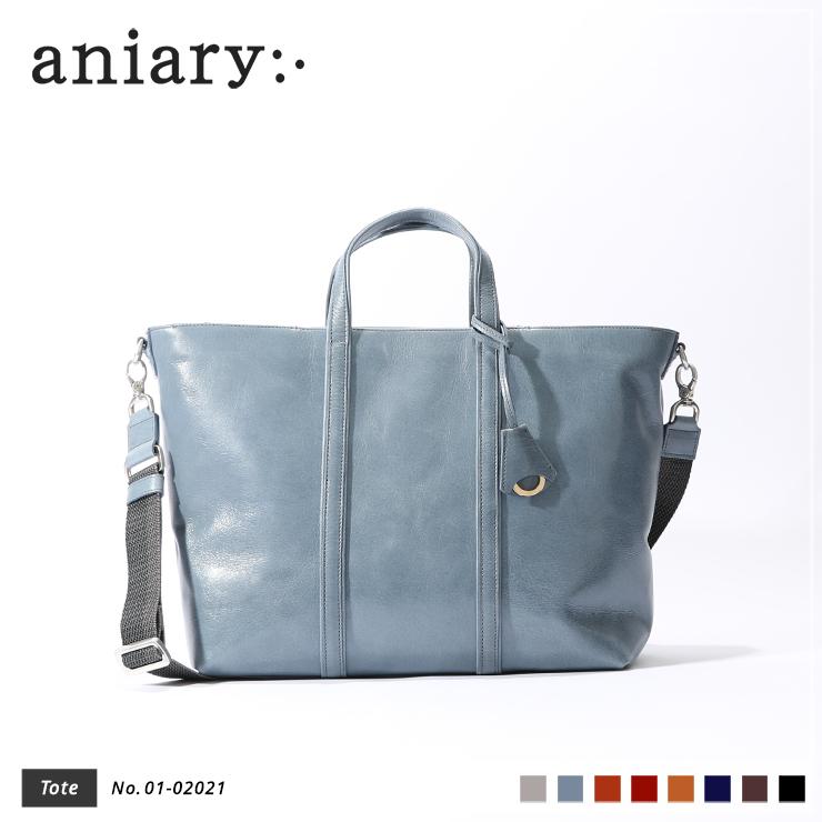 【新色 2019 S/S】【aniary|アニアリ】Antique Leather アンティークレザー 牛革 Tote トートバッグ 01-02021 メンズ [送料無料]