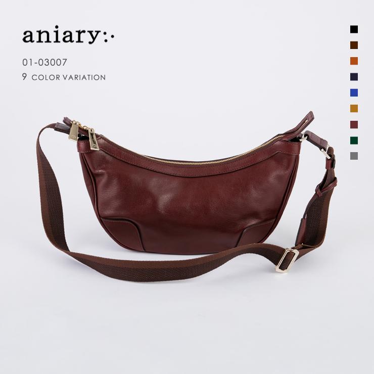 アニアリ・aniary ショルダー【送料無料】アンティークレザー shoulder 01-03007
