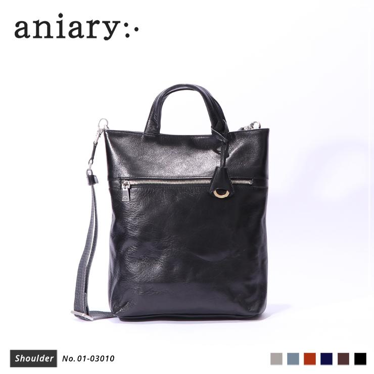【新作 2019 S/S】【aniary|アニアリ】Antique Leather アンティークレザー 牛革 Shoulder ショルダーバッグ 01-03010 メンズ 斜め掛け [送料無料]