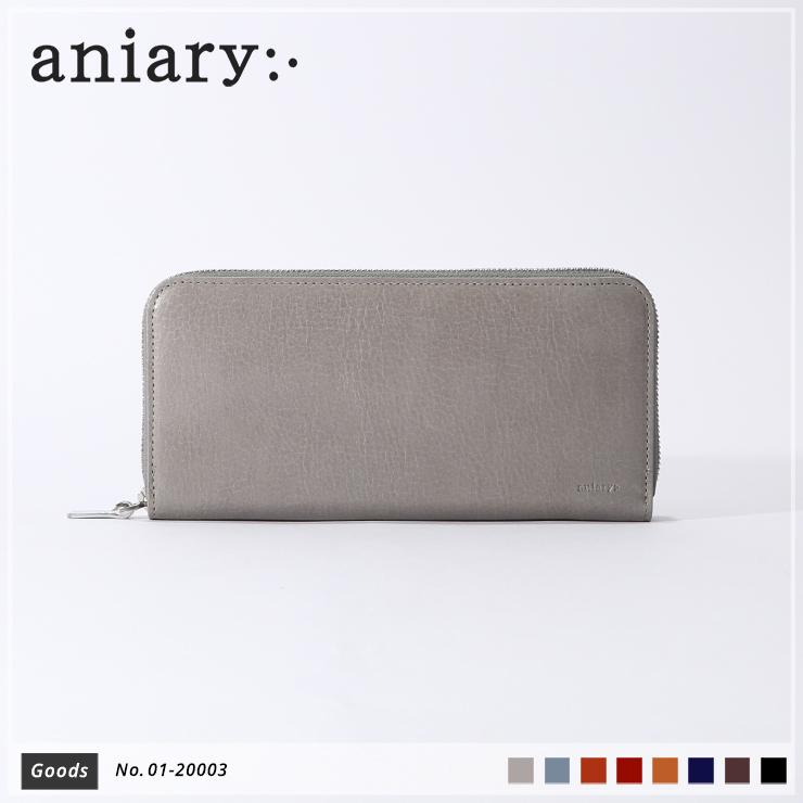 【新色 2019 S/S】【aniary|アニアリ】Antique Leather アンティークレザー 牛革 Goods ウォレット 長財布 01-20003 メンズ [送料無料]