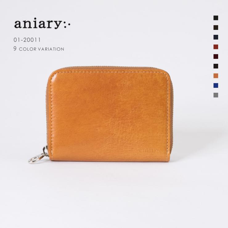 【aniary|アニアリ】Antique Leather アンティークレザー 牛革 Goods コインケース 小銭入れ 01-20011 [送料無料]