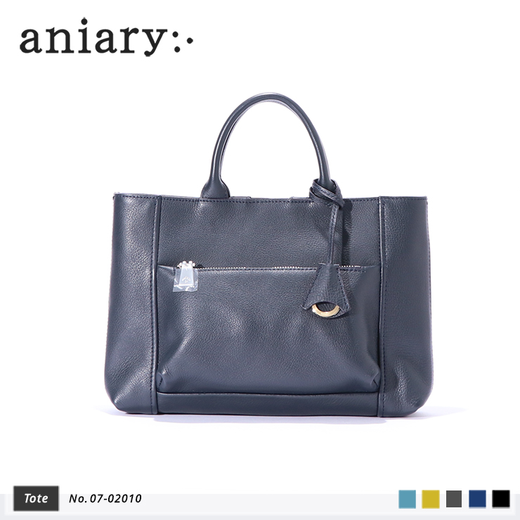 【aniary|アニアリ】Shrink Leather シュリンクレザー 牛革 Tote トートバッグ 07-02010 [送料無料]