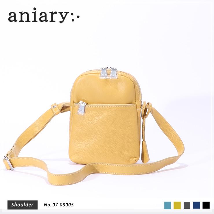 【aniary|アニアリ】Shrink Leather シュリンクレザー 牛革 Shoulder ショルダーバッグ 07-03005 [送料無料]