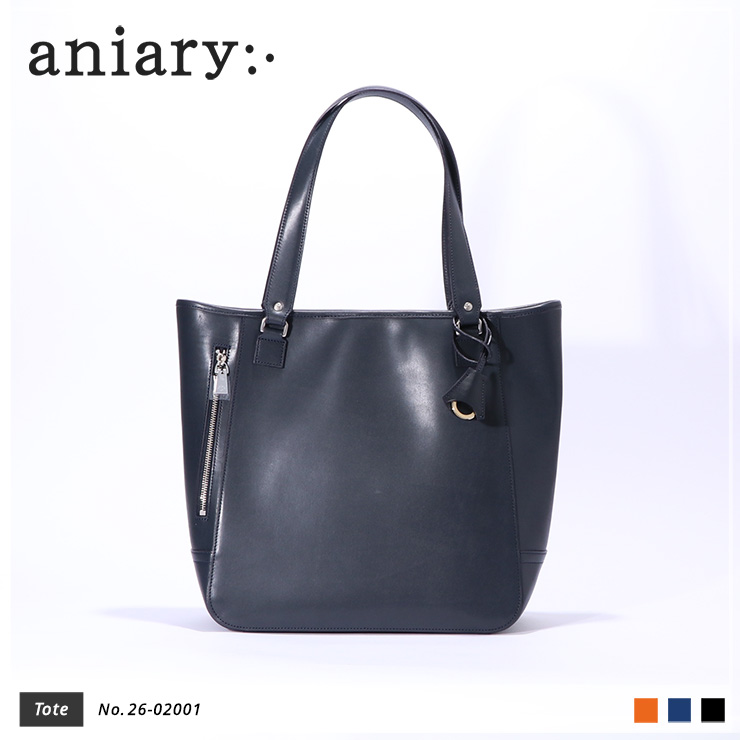 【aniary|アニアリ】Axis Leatherアクシスレザー牛革Tote トートバッグ 26-02001 [送料無料]