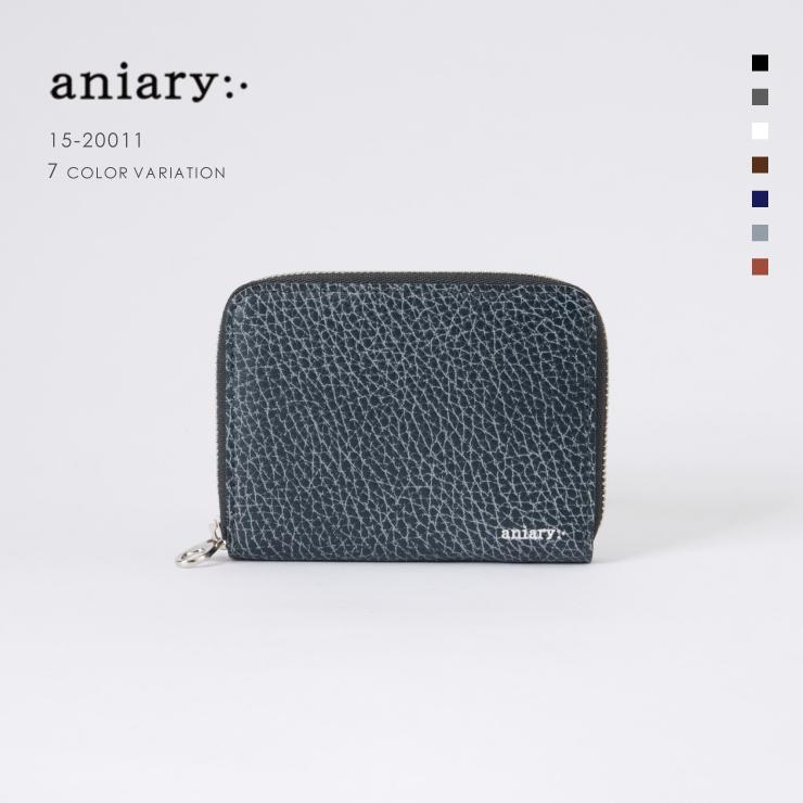 アニアリ・aniary コインケース【送料無料】Grind Leather 牛革 Coin Case 15-20011