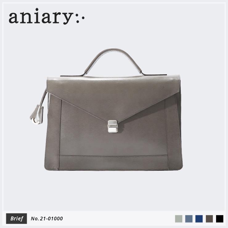【新作】【aniary|アニアリ】Inheritance Leather インヘリタンスレザー 牛革 Brief ブリーフケース 21-01000 メンズ [送料無料]