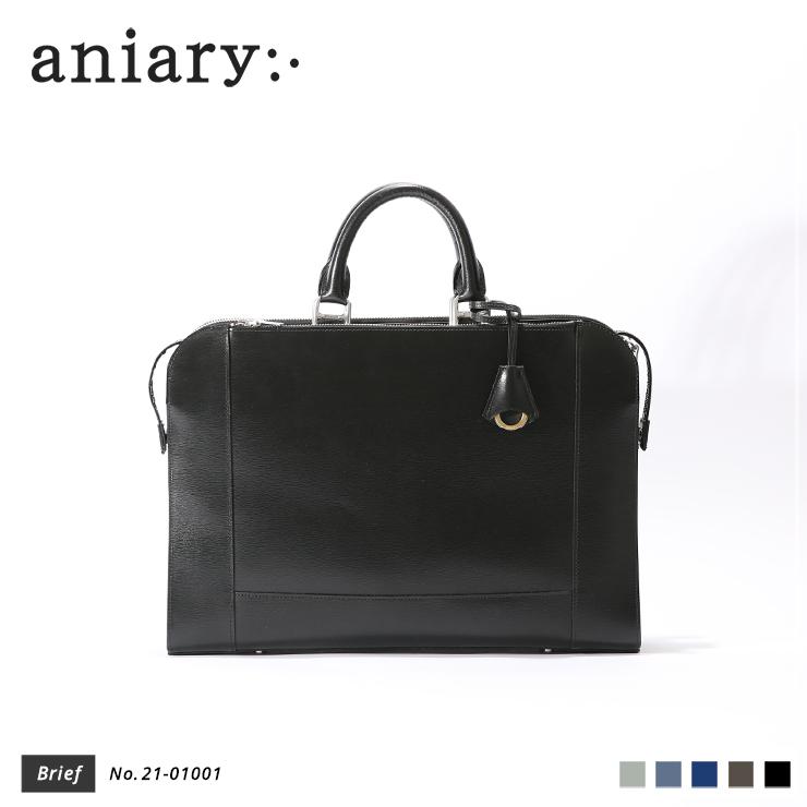 【新作】【aniary アニアリ】Inheritance Leather インヘリタンスレザー 牛革 Brief ブリーフケース 21-01001 メンズ [送料無料]
