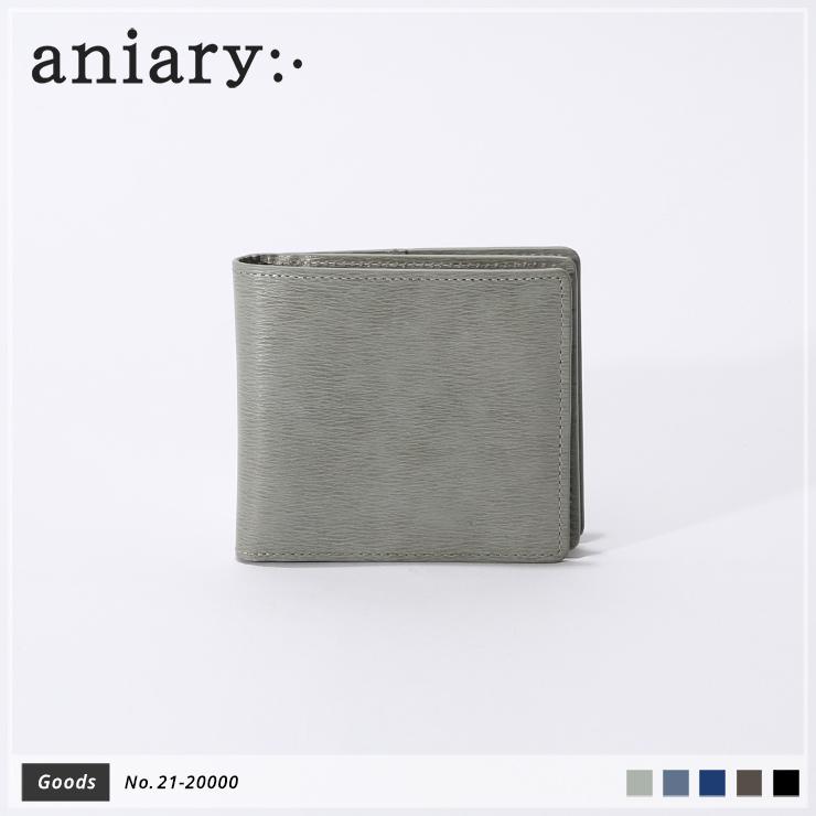 【新作】【aniary|アニアリ】Inheritance Leather インヘリタンスレザー 牛革 Goods ウォレット 二つ折り財布 21-20000 メンズ [送料無料]