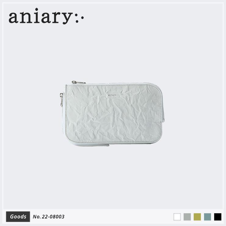 【新作】【aniary|アニアリ】Rughe Leather ルーガレザー 牛革 Goods マルチケース 22-08003 メンズ [送料無料]
