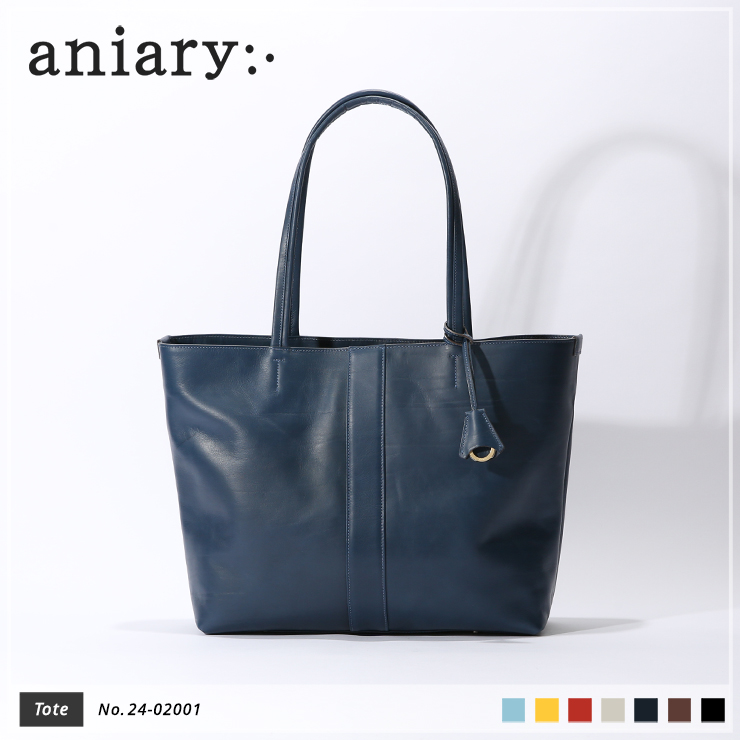 【新作 2019 S/S】【aniary|アニアリ】【オフィシャルストア・パートナーストア限定販売!】Crumple Leather クランプルレザー 牛革 Tote トートバッグ 24-02001 メンズ [送料無料]