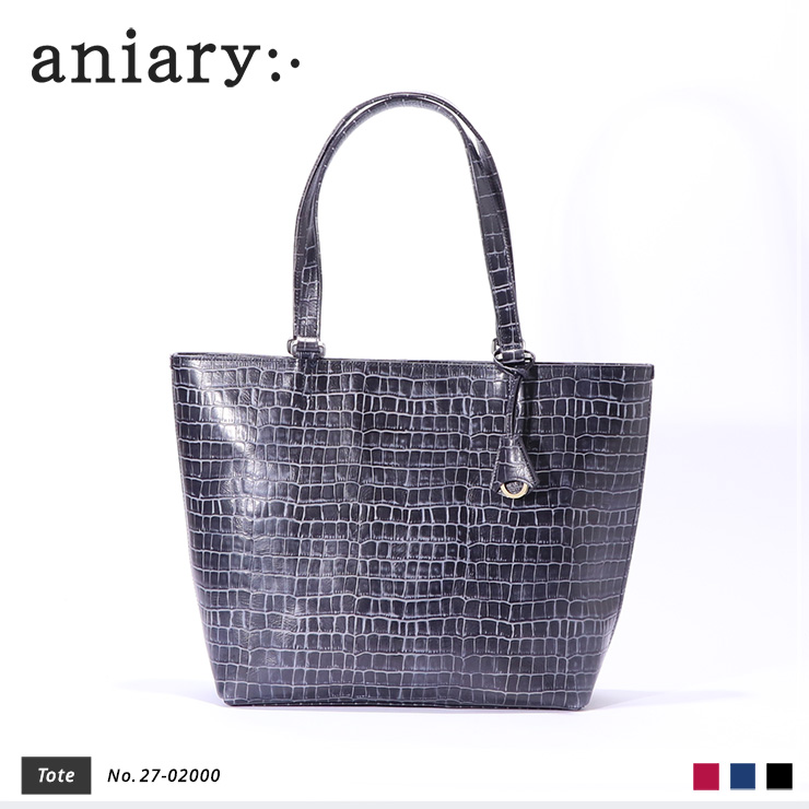 【aniary|アニアリ】Tint Embossing Leatherティントエンボシングレザー牛革 Tote トートバッグ 27-02000 [送料無料]