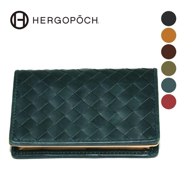 【HERGOPOCH|エルゴポック】Waxed Leather ワキシングレザー 牛革 Goods カードケース 名刺入れ 06W-INAM [送料無料]