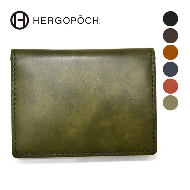【HERGOPOCH|エルゴポック】Waxed Leather ワキシングレザー 牛革 Goods パスケース 06W-PS2