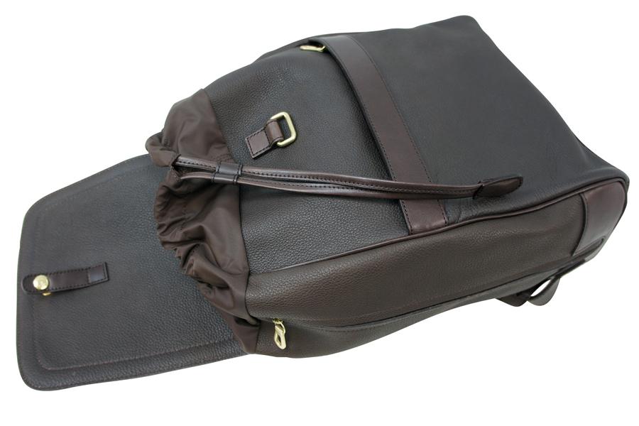 期間限定 ケアセットプレゼントHERGOPOCH エルゴポック Prime Grain Leather プライムグレインレザー 牛革 Backpack バックパック KG RSC送料無料80vmnONw