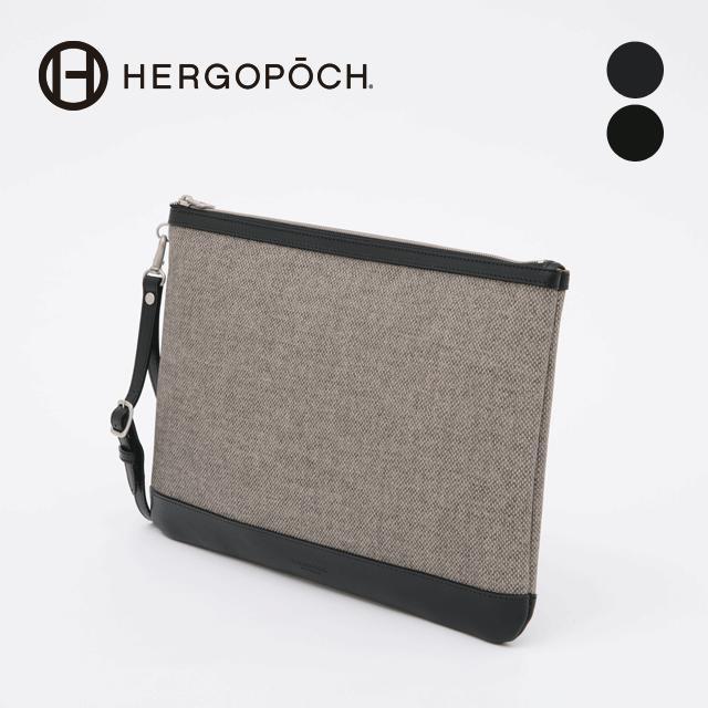 エルゴポック・HERGOPOCH クラッチバッグ【送料無料】リモンタPVC×牛革 Crutch LP-SCL